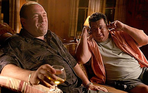 The Sopranos Tony and Bobby