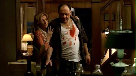 The Sopranos bloody Tony