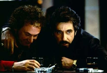 Carlito's Way -- Al Pacino and Sean Penn