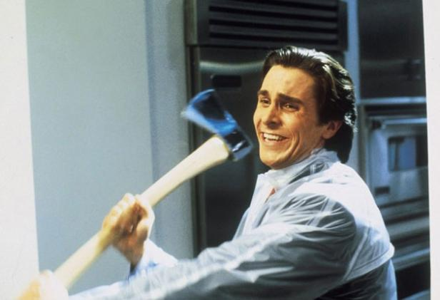 Christian Bale in &quot;American Psycho&quot;