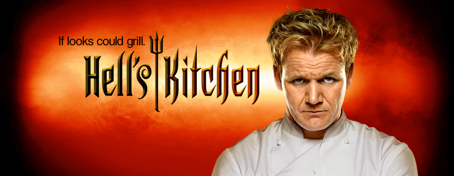 gordon ramsay hell's kitchen on dvd