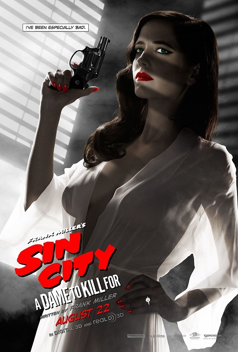 Eva Green rejected Sin City poster