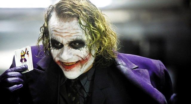 Heath Ledger as The Joker in The Dark Knight 640